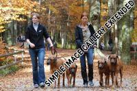 20101030_Mirjam und ich mit unseren Hunden 2010